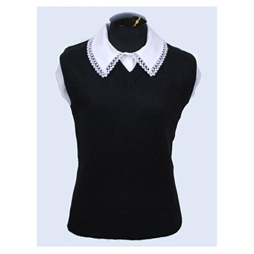 Купить Жилет Перемена размер 158-164/80, черный, Жилеты