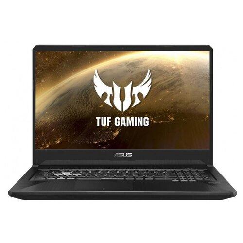 Купить Ноутбук ASUS TUF Gaming FX705GE-EW170T (Intel Core i5 8300H 2300 MHz/17.3 /1920x1080/8GB/1000GB HDD/DVD нет/NVIDIA GeForce GTX 1050 Ti/Wi-Fi/Bluetooth/Windows 10 Home) 90NR00Z1-M03750 серый