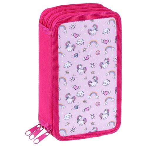 Купить ArtSpace Пенал Girl's power (ПТ3_29136) розовый, Пеналы