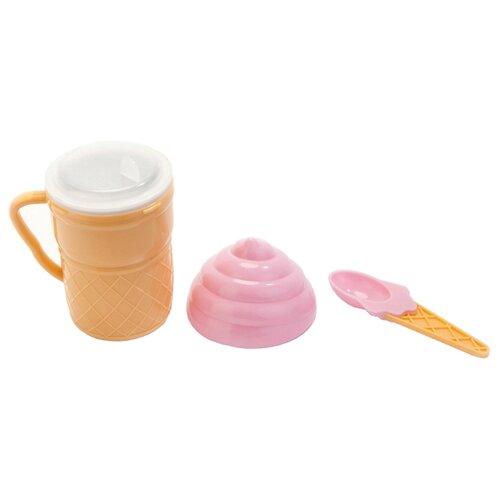 Форма для мороженого BRADEX JUST SHAKE желтый/розовый