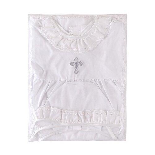 Купить Комплект Наша мама размер 74, белый, Крестильная одежда