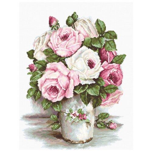 Набор для вышивания Смешанные розы 24 х 31 см B2329