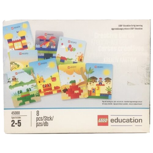 education Дополнительные детали LEGO Education Early Learning DUPLO 45080 Креативные карты