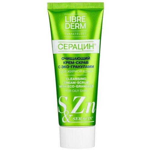 Купить Librederm крем-скраб для лица Серацин очищающий с эко-гранулами 75 мл