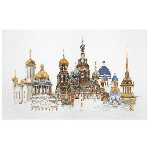 Thea Gouverneur Набор для вышивания Санкт-Петербург 50 х 79 см (430А) thea gouverneur набор для вышивания санкт петербург 50 х 79 см 430а