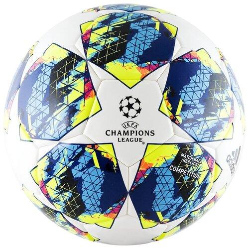 Футбольный мяч adidas Finale 19 Competition белый/синий/желтый/черный 5