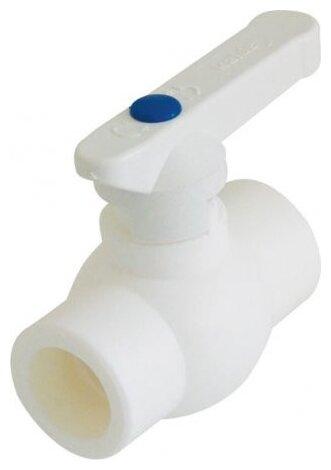 Кран шаровый Kalde 3242-vlb-400003 приварной, полипропилен