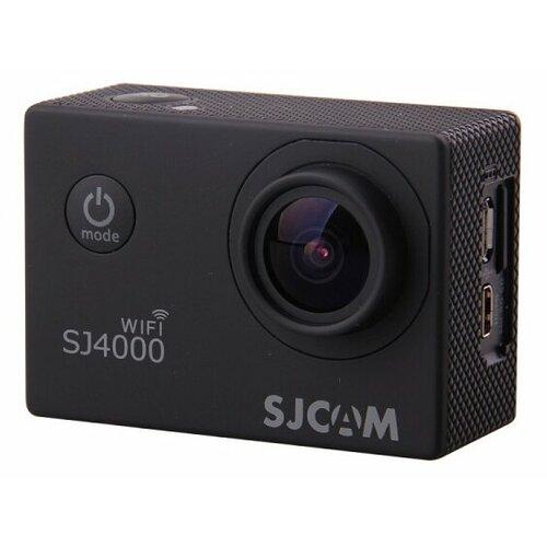 Фото - Экшн-камера SJCAM SJ4000 WiFi черный экшн камера sjcam sj4000 wi fi yellow