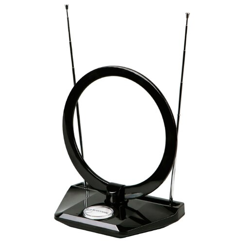 Фото - Комнатная DVB-T2 антенна Kromax TV FLAT-07 комнатная антенна kromax flat 07 black