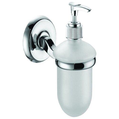 Дозатор для жидкого мыла Bath Plus City ST-73312 серебристый/белый