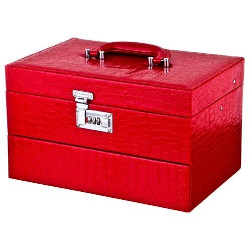 цена Lefard Шкатулка для украшений, 362-108 красный онлайн в 2017 году
