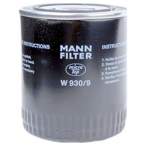 Масляный фильтр MANNFILTER W930/9