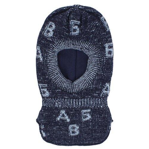 Купить Шапка-шлем Prikinder размер 46-48, синий, Головные уборы