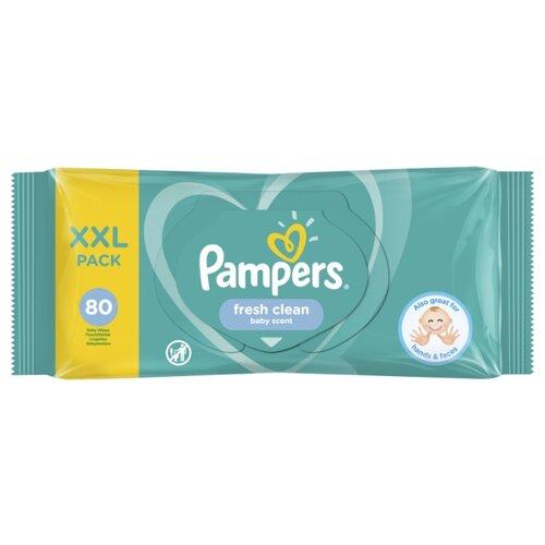 Купить Влажные салфетки Pampers Fresh Clean 80 шт.