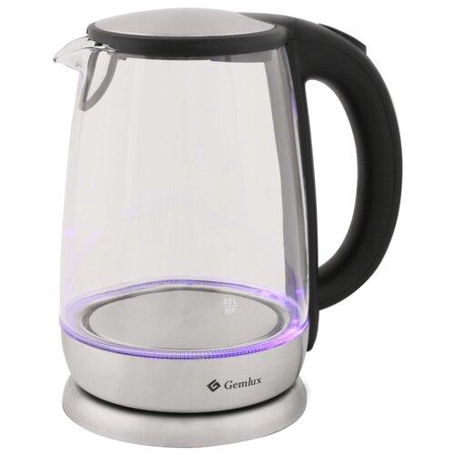 Чайник Gemlux GL-EK-605G, серебристый чайник электрический gemlux gl ek 501g