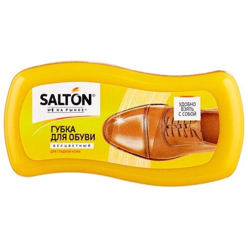 SALTON Губка-мини волна из гладкой кожи, бесцветный