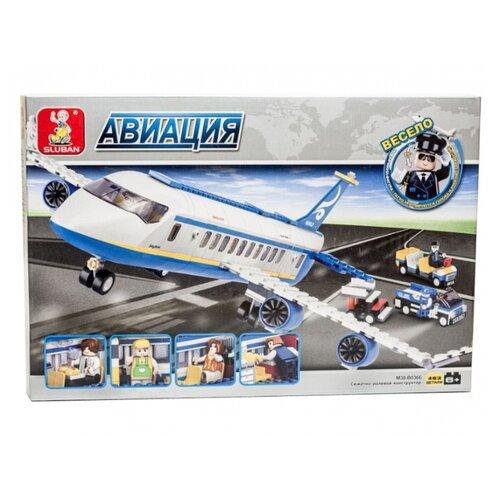 Купить Конструктор SLUBAN Авиация M38-B0366, Конструкторы