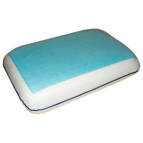 Подушка Arya ортопедическая Гелевая Memory Foam 30 х 50 см белый мухобойка электрическая help 21 х 50 см