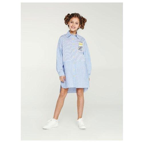 Купить Платье Deloras размер 164, синий, Платья и сарафаны