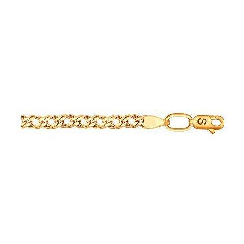 SOKOLOV Браслет из красного золота 551010606, 19 см, 3.7 г