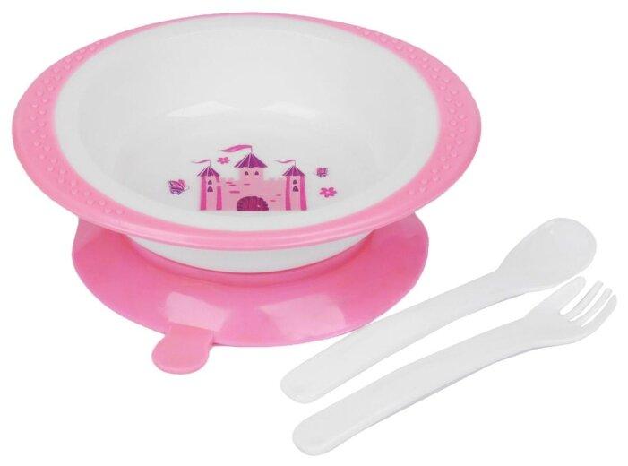 Комплект посуды Крошка Я Принцесса (1592345)