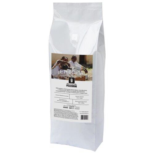 Кофе в зернах la famiglia Pellegrini ETHIOPIA Sidamo Guji, арабика, 1 кгКофе в зернах<br>
