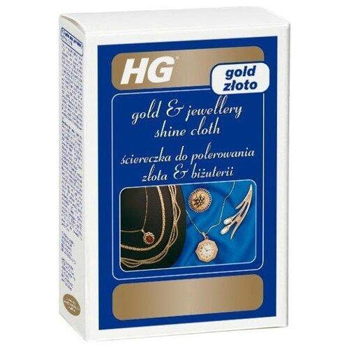Влажные салфетки HG Салфетка для придания блеска золоту, 6 шт.