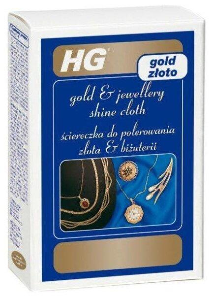 Влажные салфетки HG Салфетка для придания блеска золоту