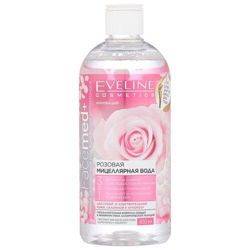 Eveline Cosmetics Facemed+ мицеллярная вода розовая 3 в 1, 400 мл bione cosmetics мицеллярная вода exclusive q10 255 мл