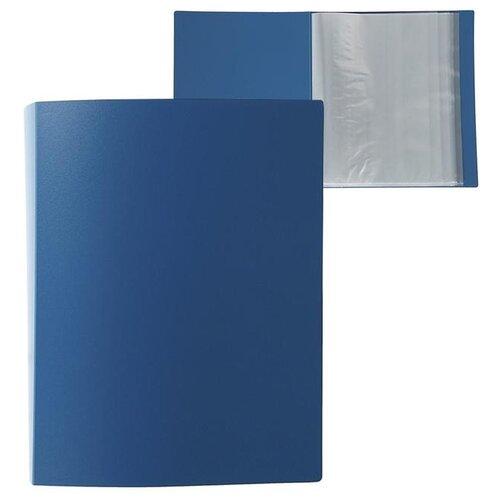 Купить Calligrata Папка на 80 файлов А4, пластик 700 мкм синий, Файлы и папки