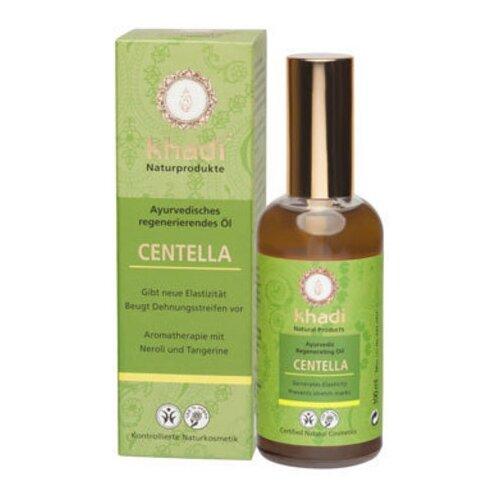 Масло для тела Khadi Naturprodukte регенерирующее Центелла, 100 мл khadi naturprodukte pink lotus масло для лица и тела розовый лотос 10 мл