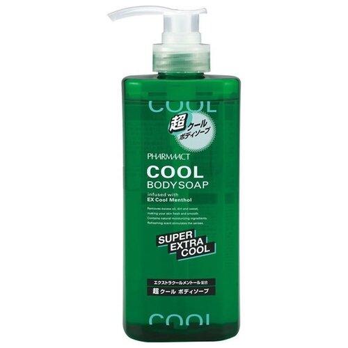 Жидкое мыло для тела Kumano Cosmetics Pharmaact Super Extra Cool, 600 мл