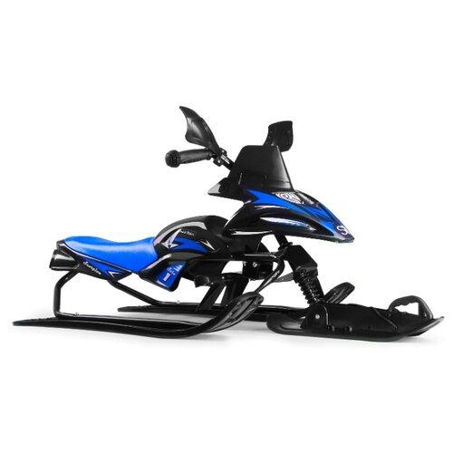 Купить Снегокат Small Rider Scorpion SOLO черный / синий, Снегокаты