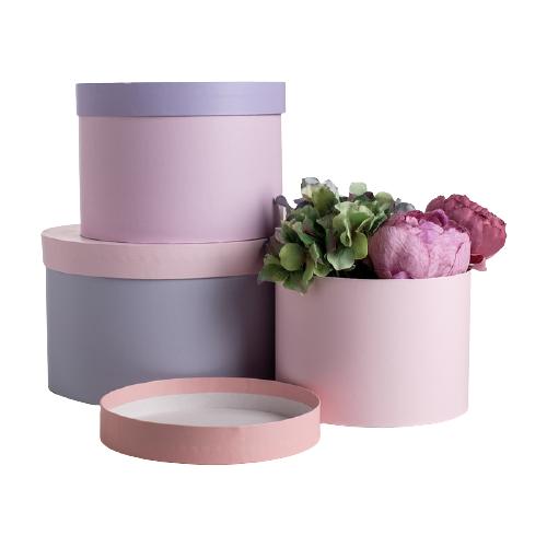 Фото - Набор подарочных коробок Дарите счастье От всего сердца, 3 шт. розовый/фиолетовый набор подарочных коробок дарите счастье нежность 3 шт розовый