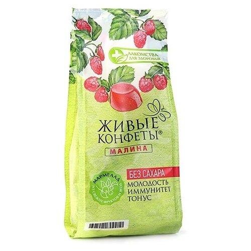 Фото - Мармелад Лакомства для здоровья Живые конфеты Малина 170 г мармелад лакомства для здоровья живые конфеты вишня 170 г