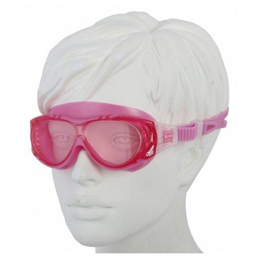 Очки-маска для плавания Larsen DK6 розовый