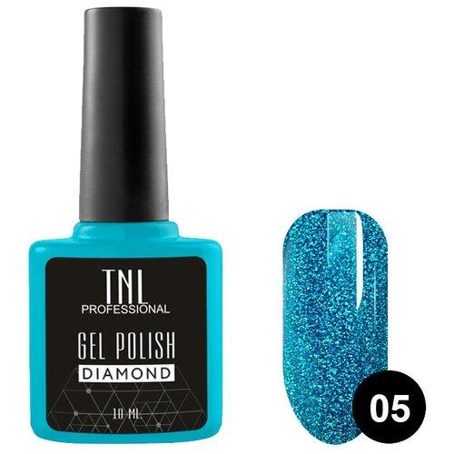 Купить Гель-лак для ногтей TNL Professional Diamond, 10 мл, оттенок №05 Сапфир