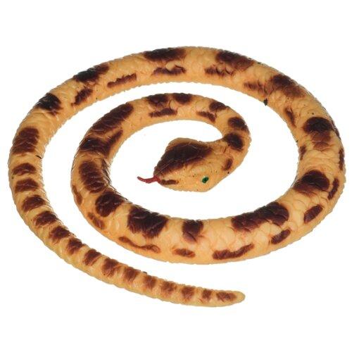 Игрушка-мялка BONDIBON Тянучка Мини-змейка (ВВ4276) бежевый/коричневый