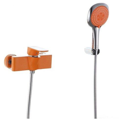 Душевой набор (гарнитур) D&K DA143311x комбинированное оранжевый/хром душевой набор гарнитур argo 101