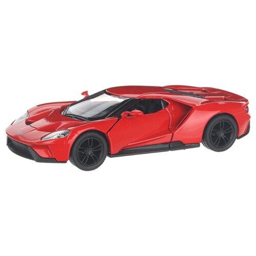 Купить Детская инерционная металлическая машинка с открывающимися дверями, модель 2017 Ford GT, красный, Serinity Toys, Машинки и техника