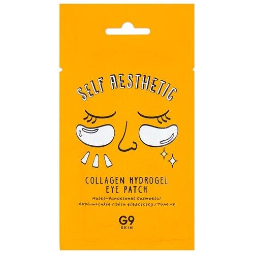 Купить G9SKIN Патчи для глаз гидрогелевые с коллагеном Self Aesthetic Collagen Hydrogel eye patch, 2 шт.