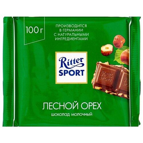Шоколад Ritter Sport Лесной орех молочный, 100 г