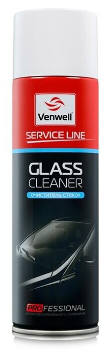 Очиститель для автостёкол Venwell Glass Cleaner, 0.5 л