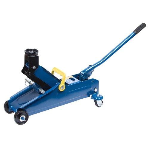 Домкрат подкатной гидравлический KRAFT KT 820009 (2.3 т) синий