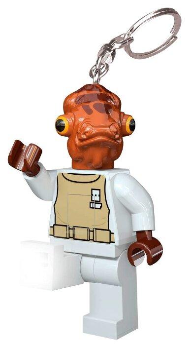 Брелок-фонарик для ключей LEGO LGL-KE59 Star Wars - Admiral Ackbar (Адмирал Акбар)