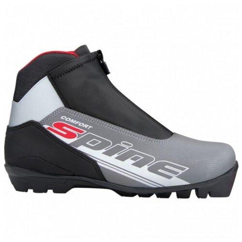цены Ботинки для беговых лыж Spine Comfort 483/7 серый/черный 36