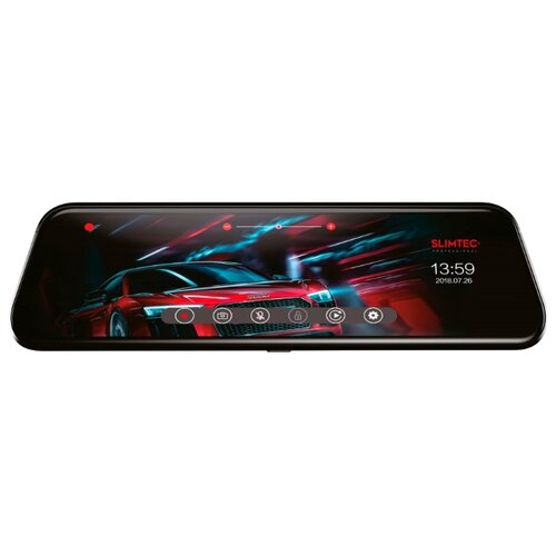 Купить Видеорегистратор Slimtec Dual M9, 2 камеры черный