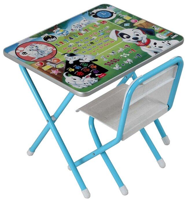 Комплект ДЭМИ стол + стул №1 Далматинцы