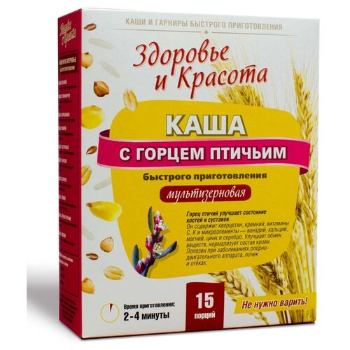 Health & Beauty Каша мультизерновая Здоровье и красота с горцем птичьим, 300 г