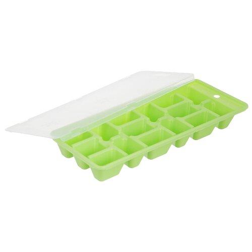 Форма для льда Fackelmann 49368 15 ячеек светло-зеленый